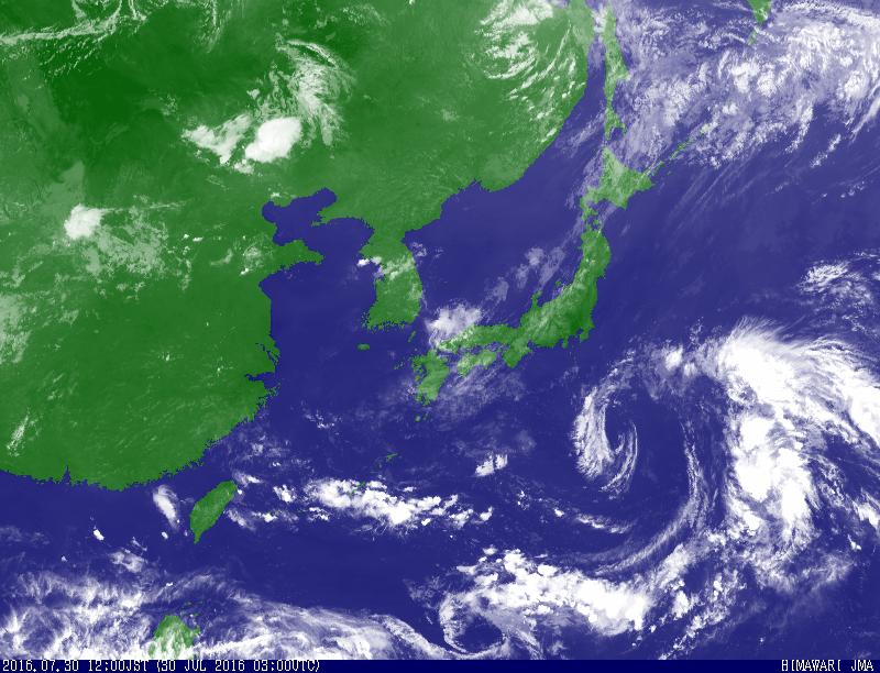 衛星雲画像