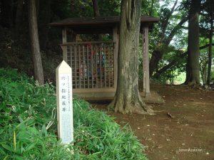 武蔵村山 六つ指地蔵