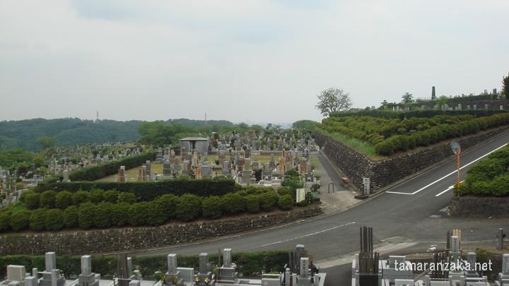 松田優作 墓所からの眺め