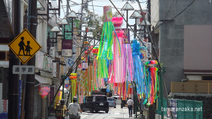 福生 七夕祭り2016