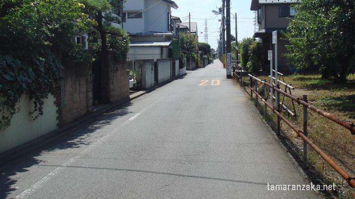 キヨシロー少年の通学路