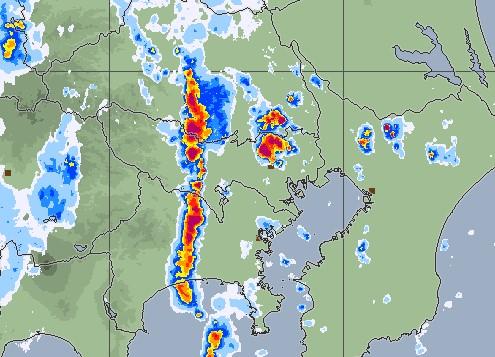 気象庁レーダー画像