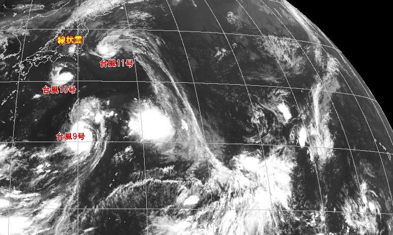気象庁衛星画像