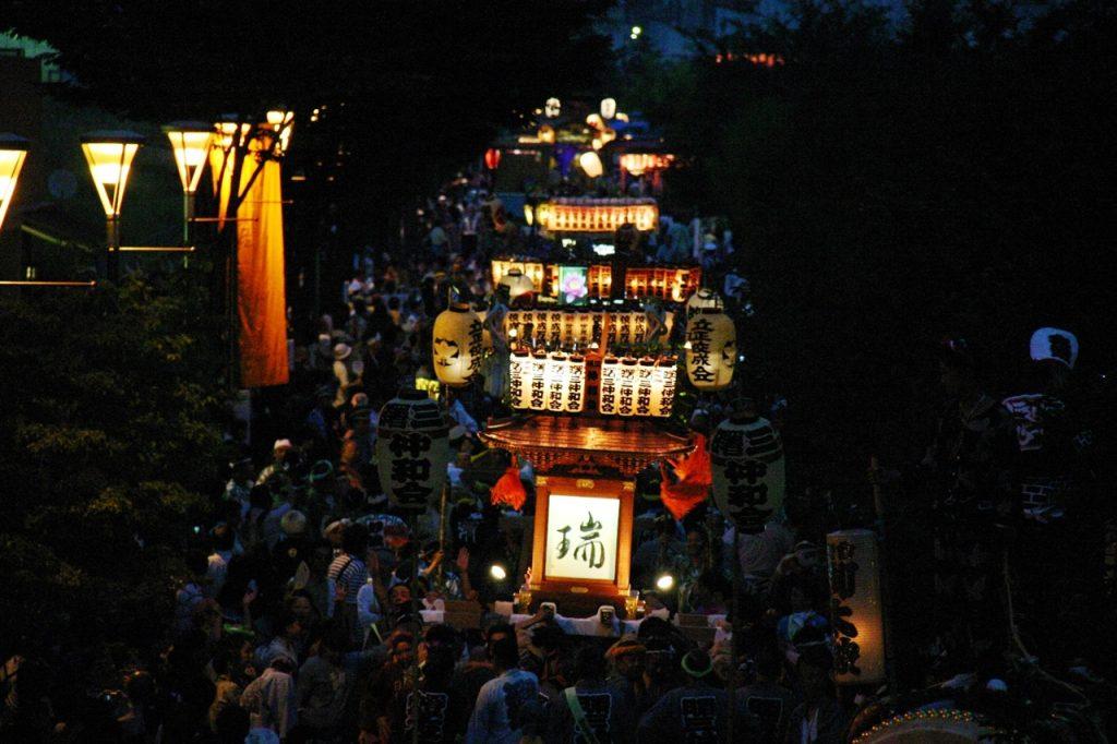 立川 よいと祭り