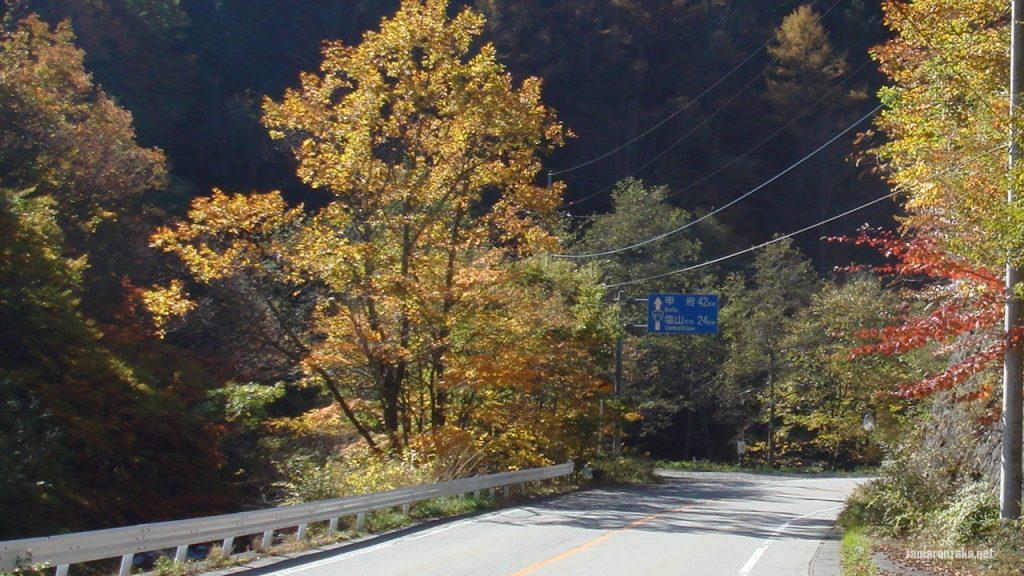 丹波山から柳沢峠へ