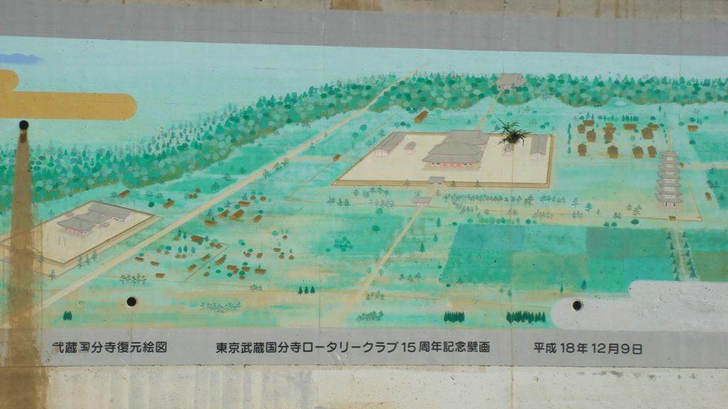 国分寺 尼寺跡壁画