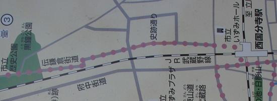 古代への道 国分寺