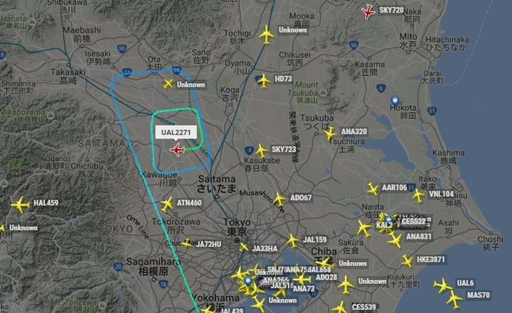 横田 flightradar24.