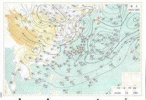 3億円事件 天気図